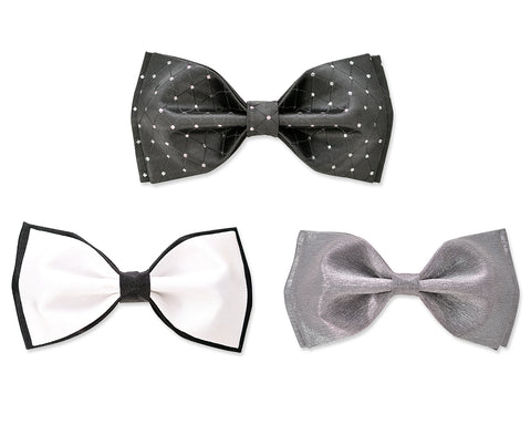 Men Pre-tied Tuxedo Wedding Satin Bow Tie