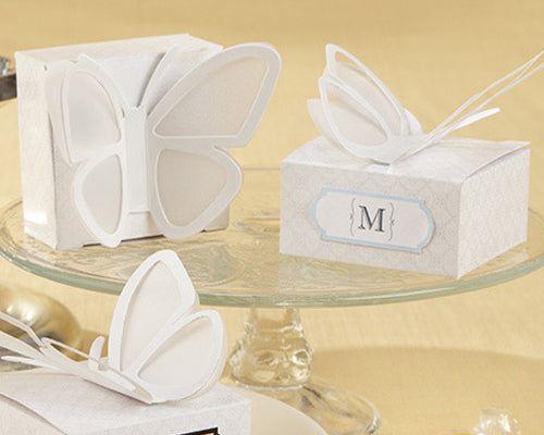 20 Pcs Vivid Butterfly Wedding Favor Boxes