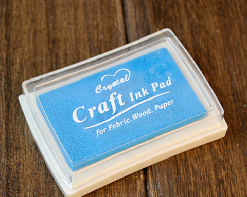 Mini Stamp Ink Pad - Blue