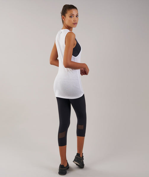 Gymshark Motion Vest - White 3
