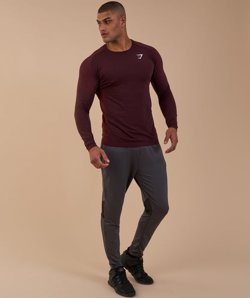 Gymshark Ghost Long Sleeve T-Shirt - Port Marl 3