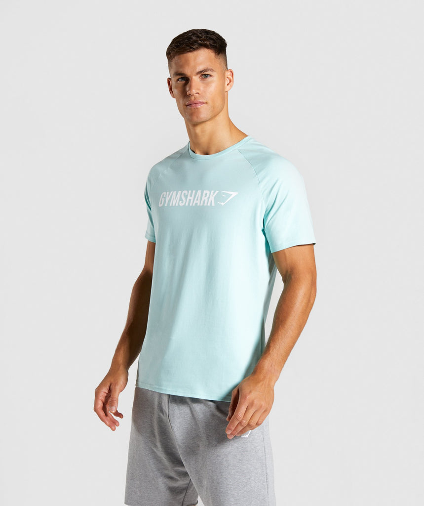 Gymshark Apollo T-Shirt - Turquoise 1