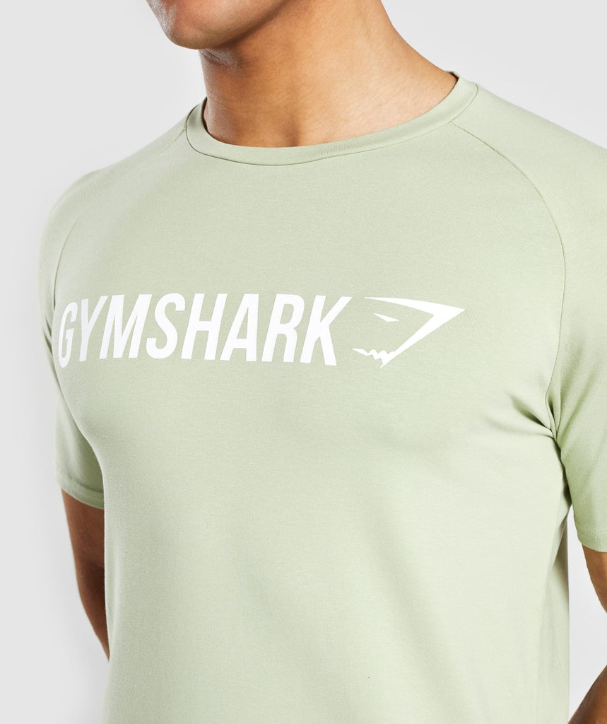 Gymshark Apollo T-Shirt - Green 5