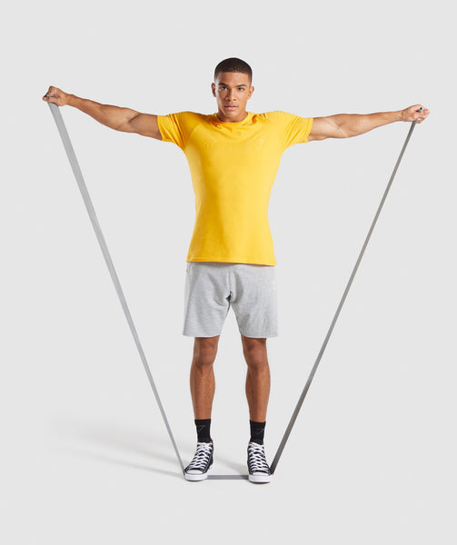 Gymshark Apollo T-Shirt - Citrus Yellow 4