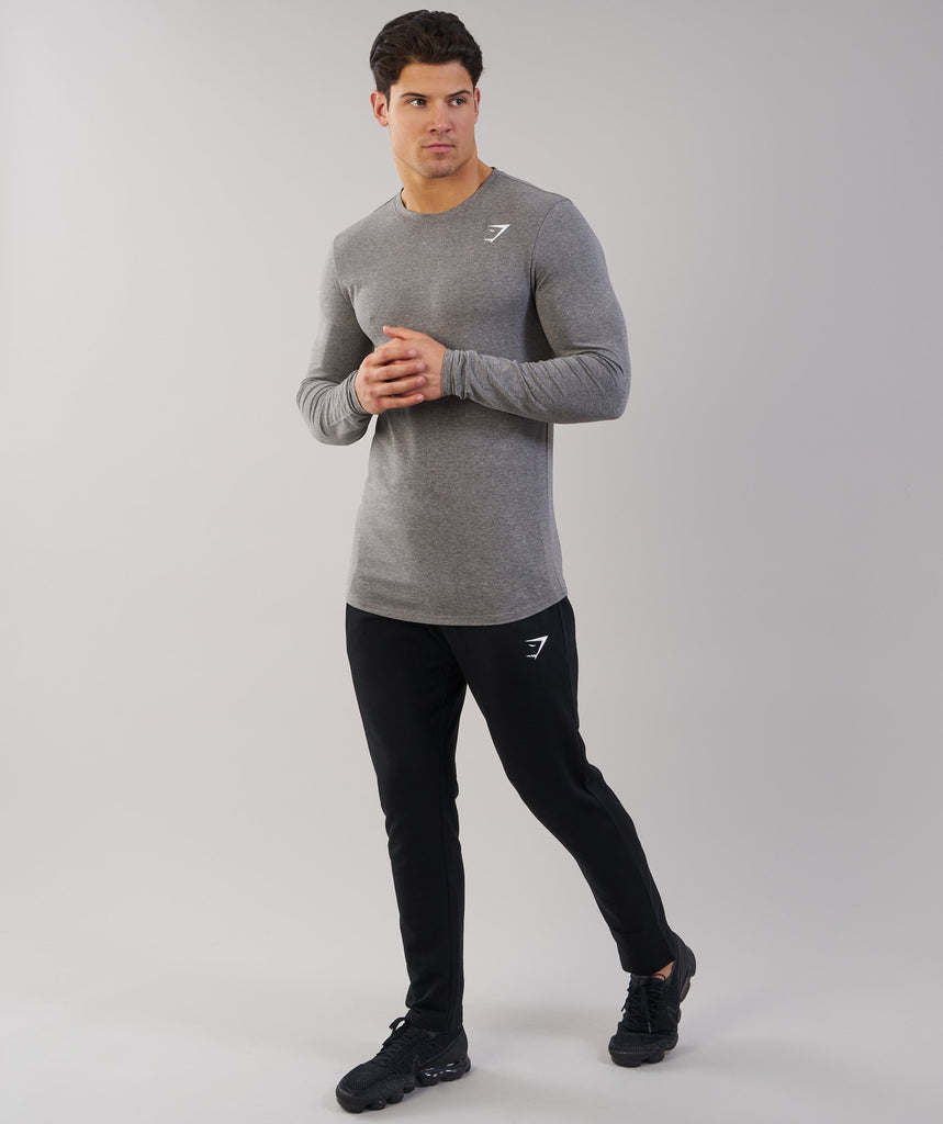 Gymshark Ark Long Sleeve T-Shirt - Slate Marl 5