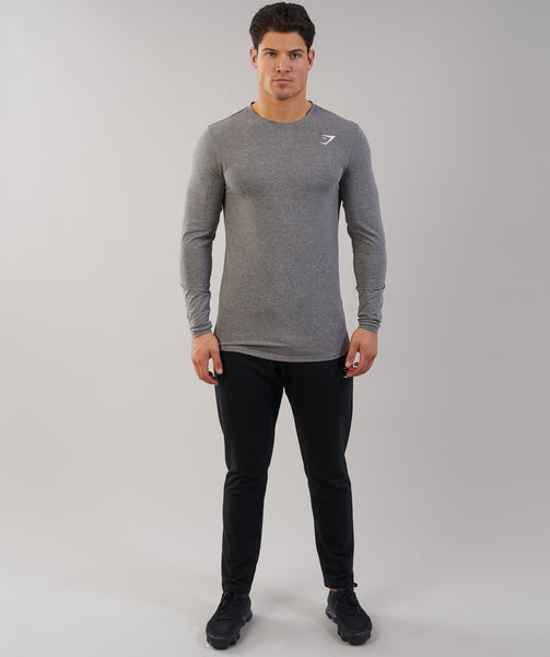 Gymshark Ark Long Sleeve T-Shirt - Slate Marl 4