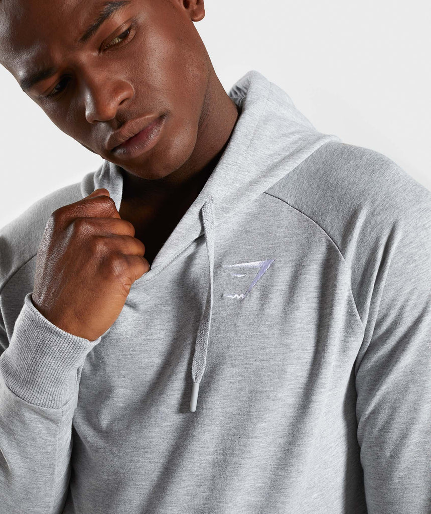 Gymshark Ark Hoodie - Light Grey Marl 6
