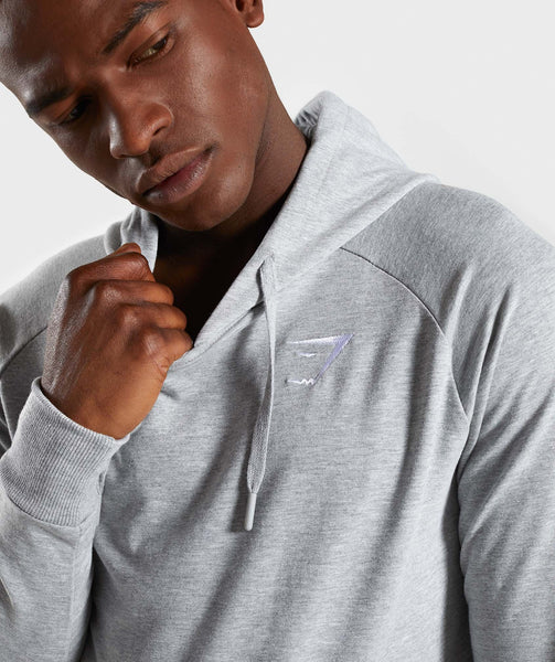 Gymshark Ark Hoodie - Light Grey Marl 4