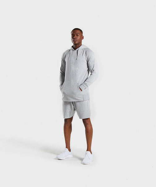 Gymshark Ark Hoodie - Light Grey Marl 3