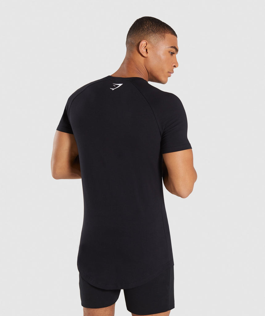 Gymshark Be a Visionary T-Shirt - Black 2