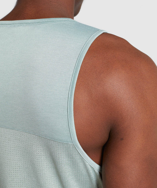 Gymshark Breathe Tank - Pale Green 4