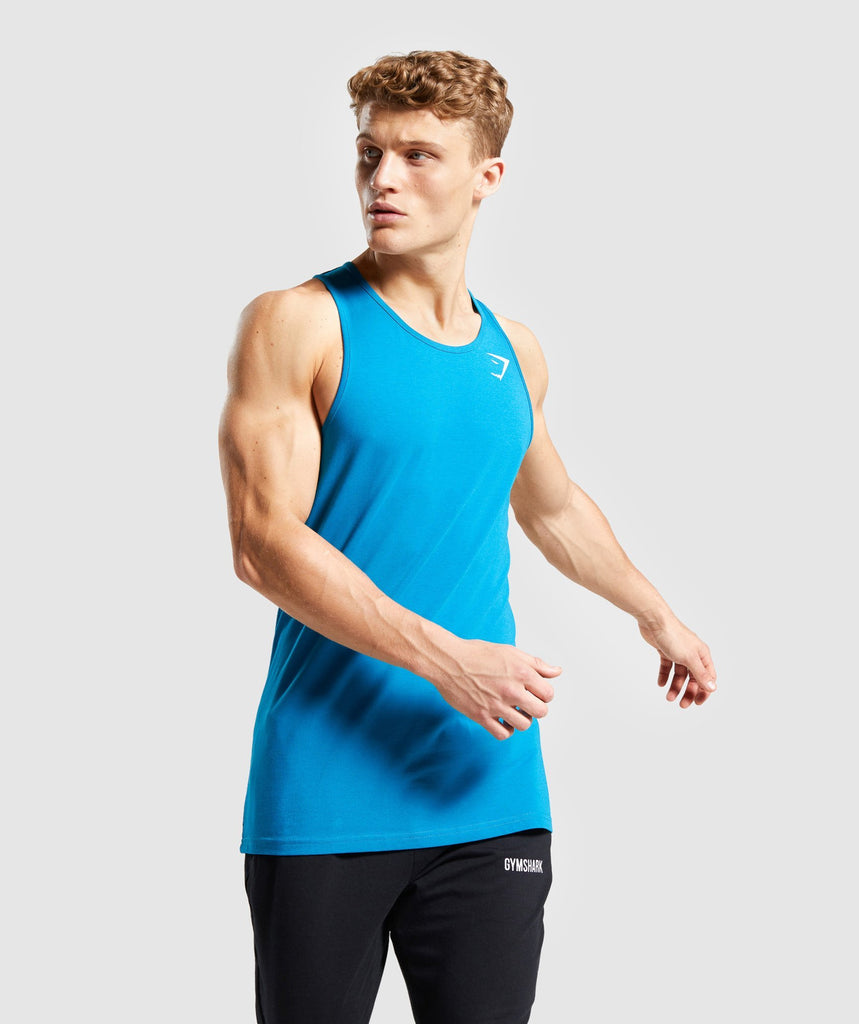 Gymshark Critical Tank - Light Blue 1