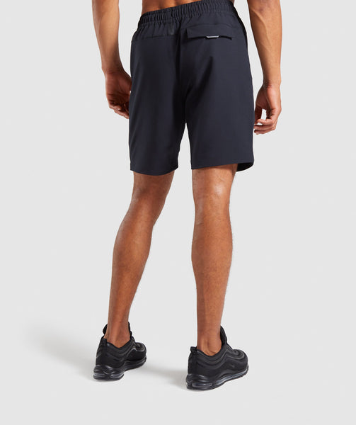Gymshark Cargo Tech Shorts- Black 4