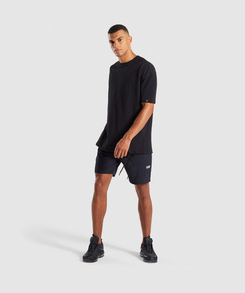 Gymshark Cargo Tech Shorts- Black 3
