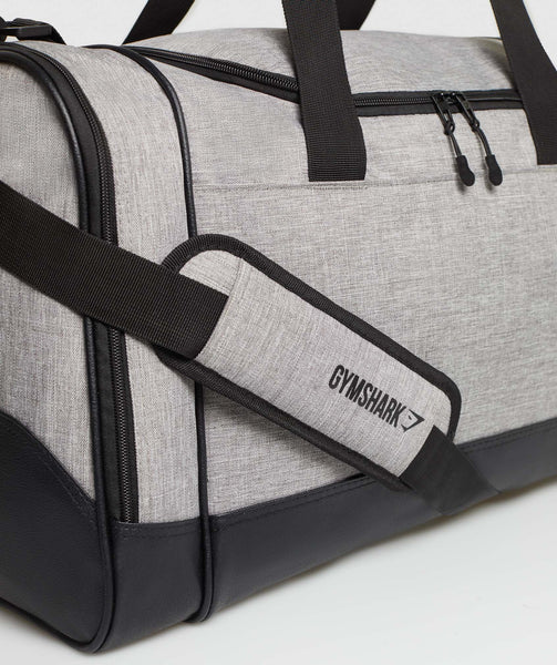 Gymshark Convex Holdall - Light Grey 3