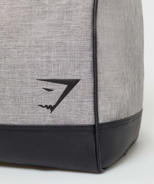 Gymshark Convex Holdall - Light Grey 4
