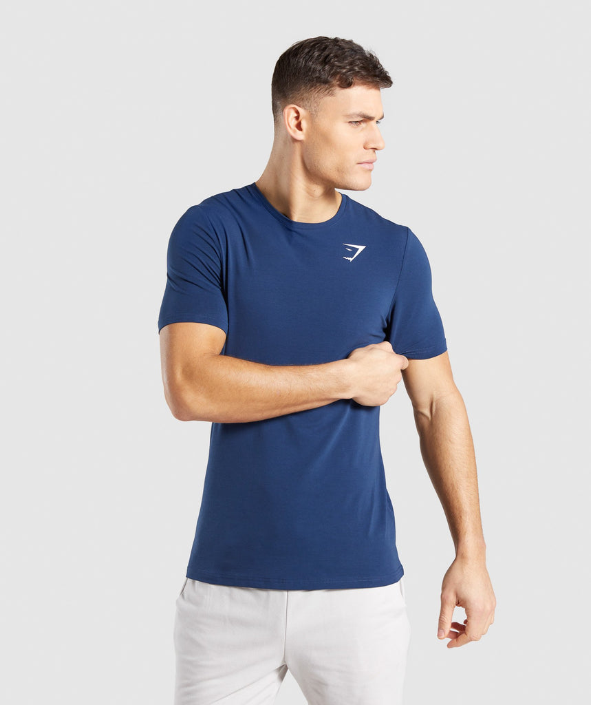Gymshark Critical T-Shirt - Blue 1