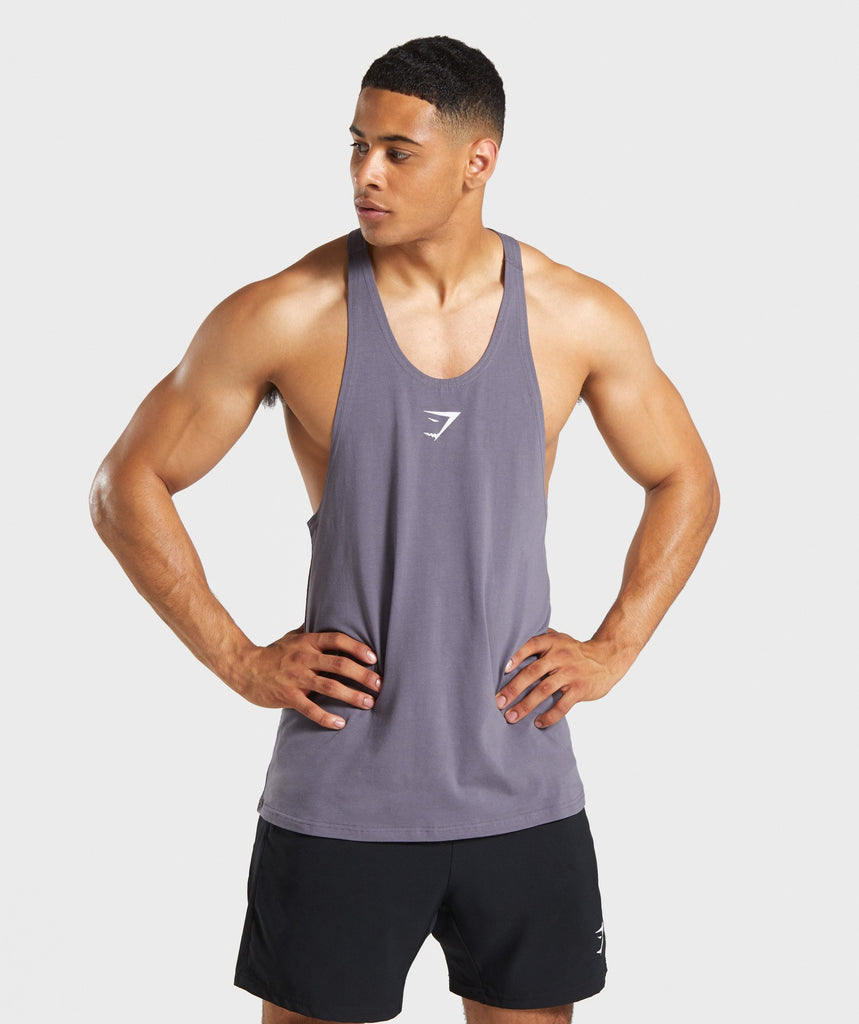 Gymshark Critical Stringer - Slate Grey 1