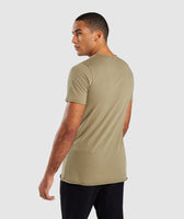 Gymshark Crucial T-Shirt - Light Khaki 8
