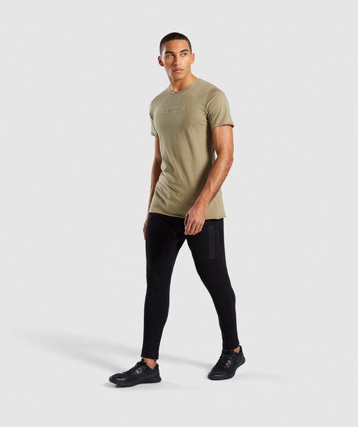Gymshark Crucial T-Shirt - Light Khaki 3