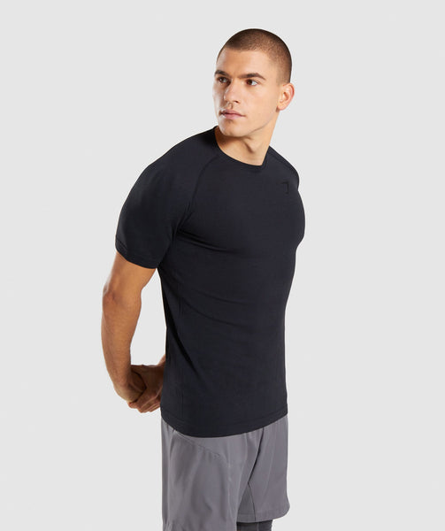 Gymshark Define Seamless T-Shirt - Black Marl 2