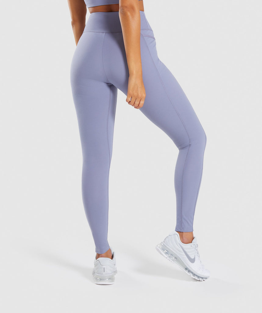 Gymshark Dreamy Leggings 2.0 - Steel Blue 2
