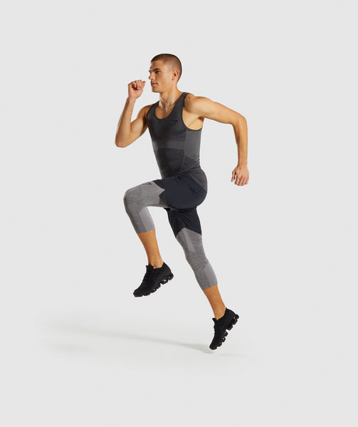 Gymshark Element+ Baselayer Tank - Black Marl 3