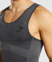 Gymshark Element+ Baselayer Tank - Black Marl 11