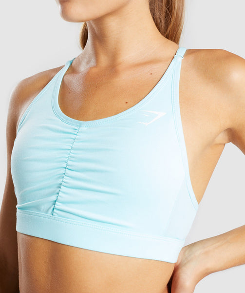 Gymshark Ease Sports Bra - Pale Turquoise 4