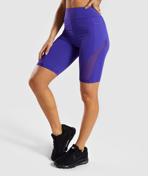 Gymshark Elevate Cycling Short - Indigo 2