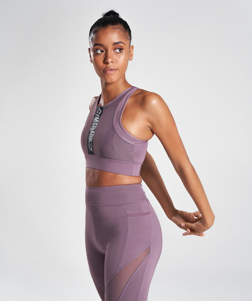 Gymshark Elevate Sports Bra - Purple Wash 4