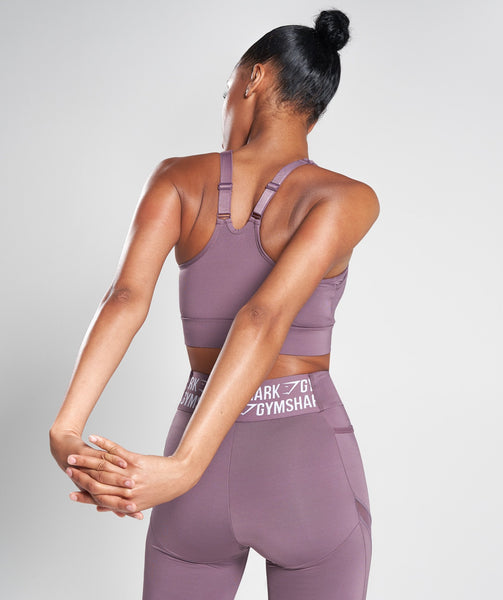 Gymshark Elevate Sports Bra - Purple Wash 1
