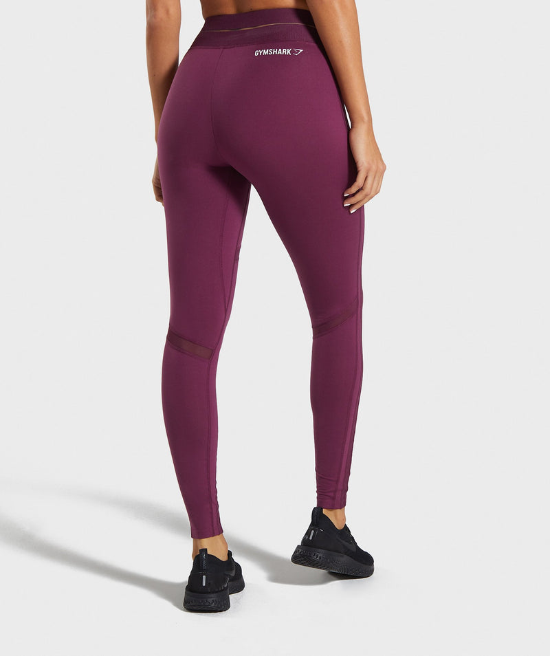 Gymshark Embody Leggings - Dark Ruby
