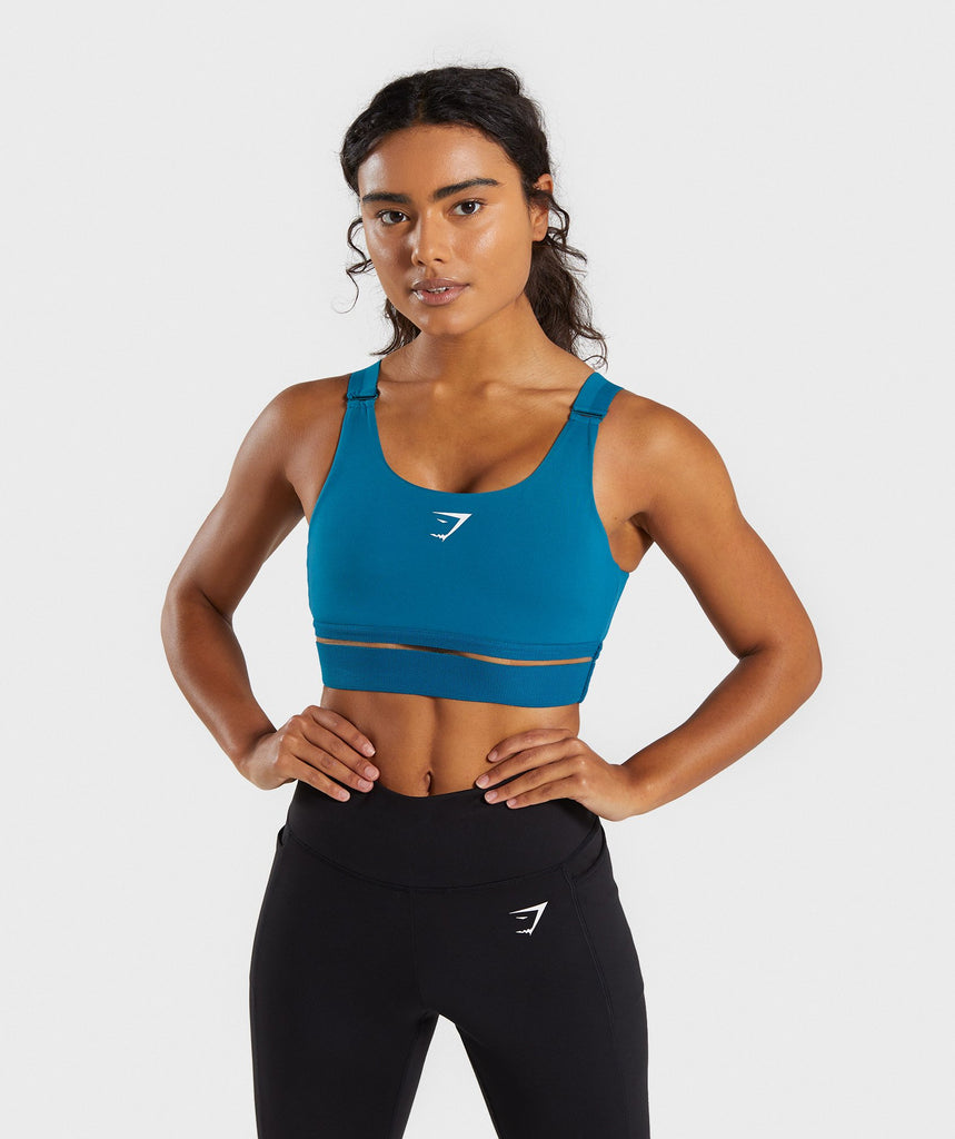 Gymshark Embody Sports Bra - Deep Teal 1