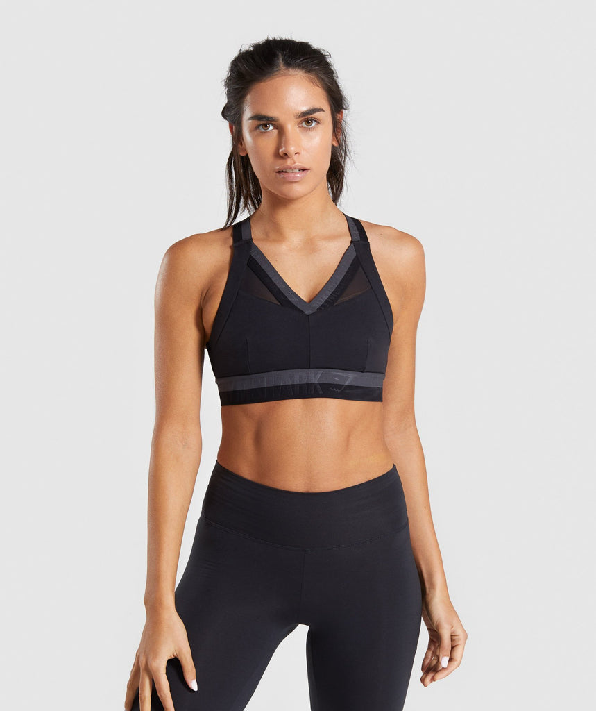 Gymshark Empower Sports Bra - Black 1