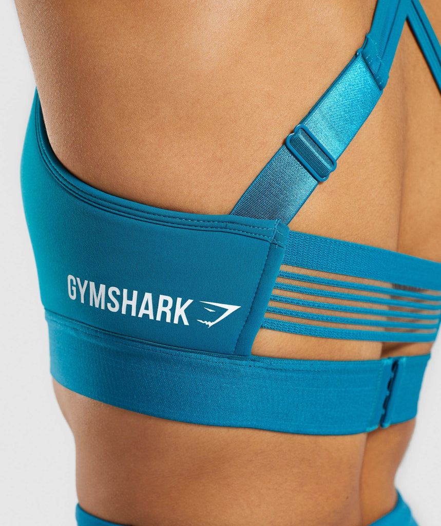 Gymshark Endurance Sports Bra - Deep Teal 6