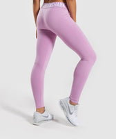 Gymshark Fit Leggings - Pink 8
