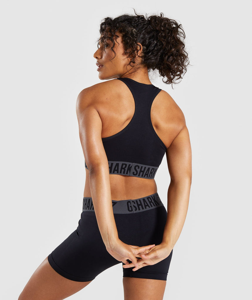 Gymshark Fit Sports Bra - Black 2