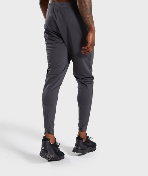 Gymshark Flatlock Bottoms - Charcoal 1