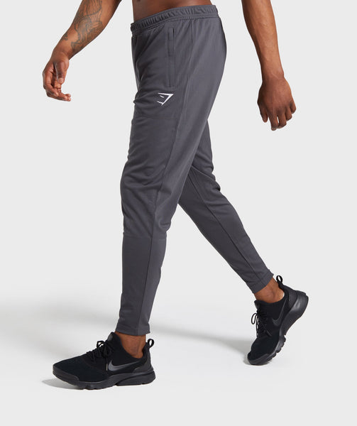 Gymshark Flatlock Bottoms - Charcoal 2