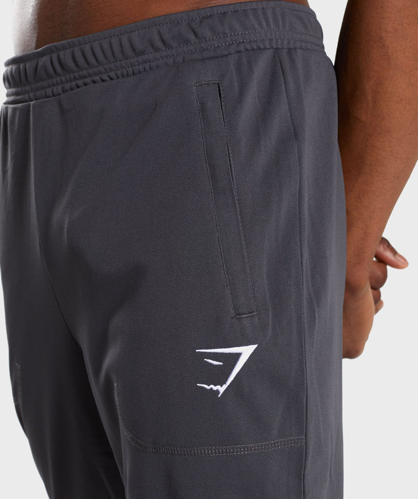 Gymshark Flatlock Bottoms - Charcoal 5