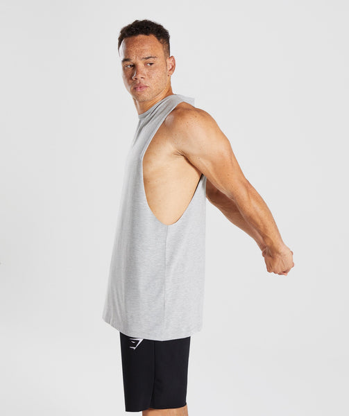 Gymshark Geo Tank - Light Grey Marl 3