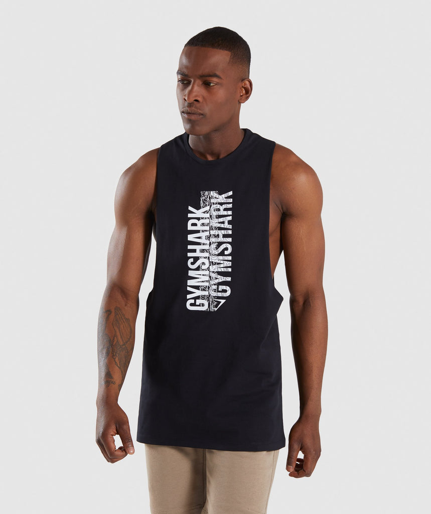 Gymshark Ascend Tank - Black 1