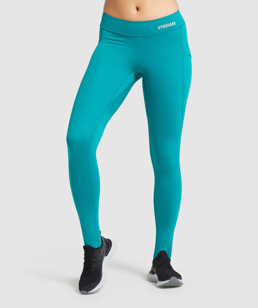 Gymshark Illumination Leggings - Emerald 1