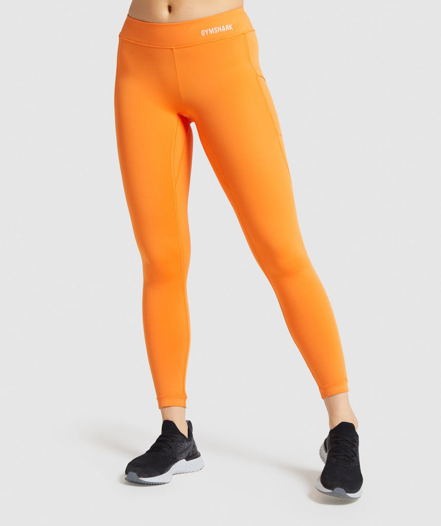 Gymshark Illumination Leggings - Orange 1