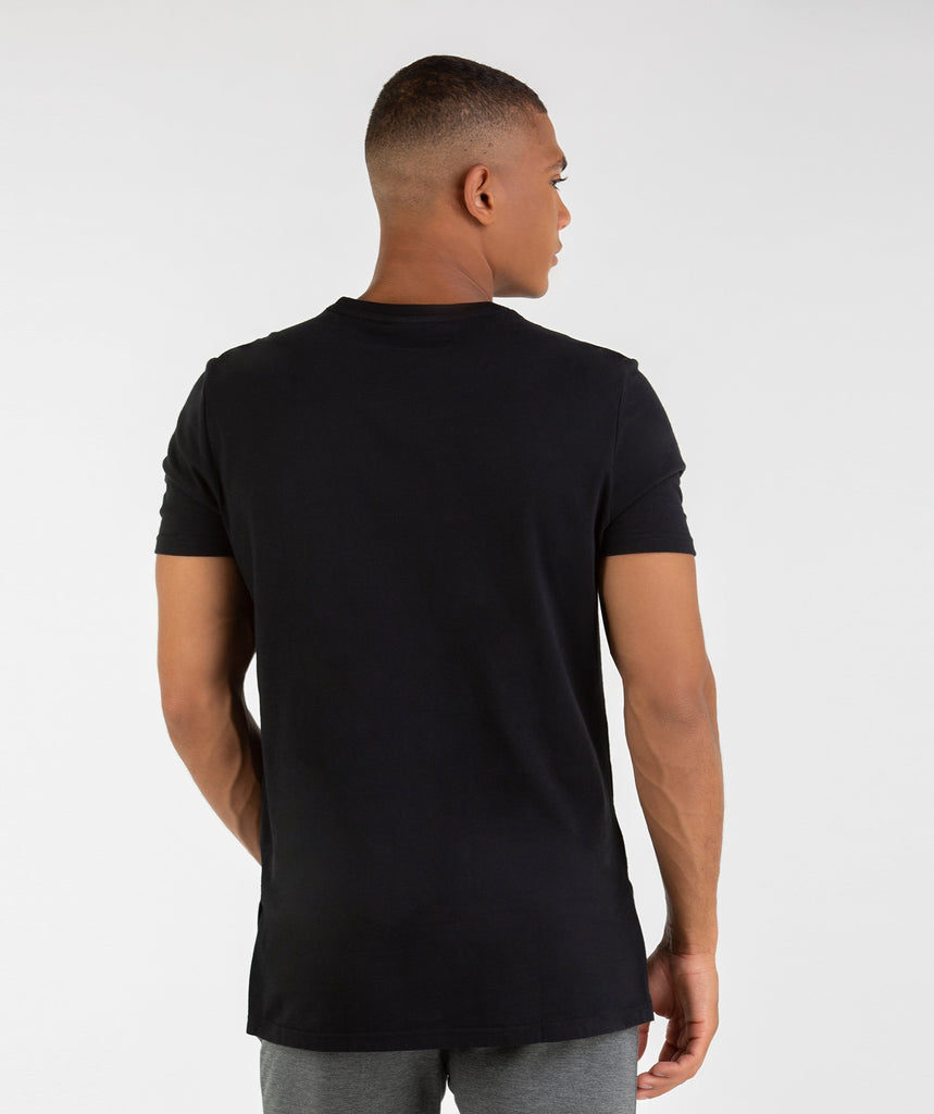 Gymshark City T-Shirt - Black 2