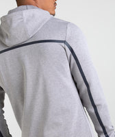 Gymshark Take Over Zip Hoodie - Light Grey Marl 10