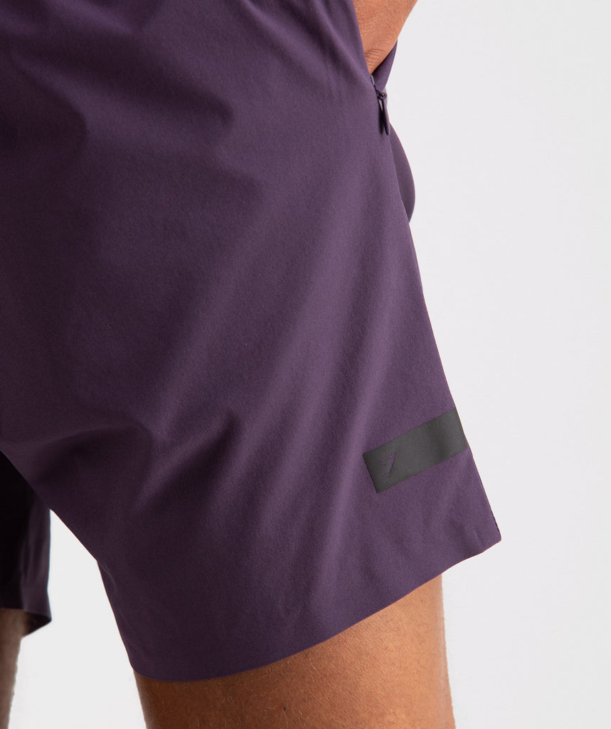 Gymshark Capital Shorts - Nightshade Purple 5