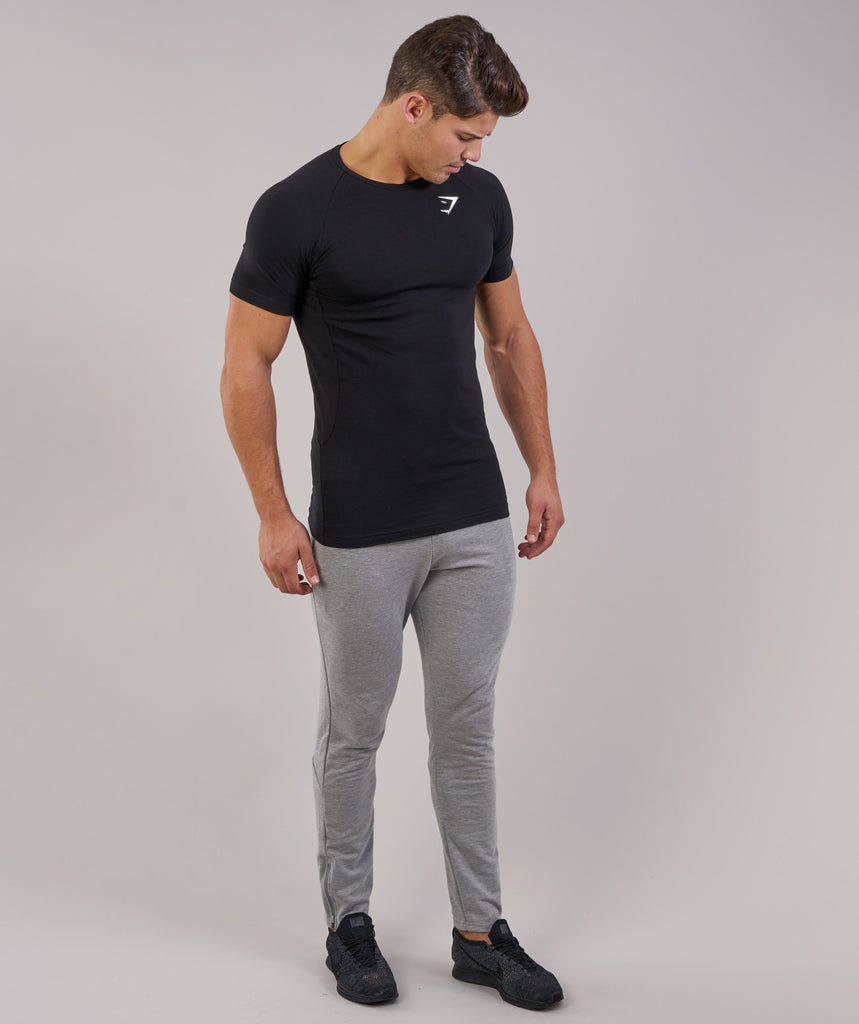 Gymshark Form T-Shirt - Black 2