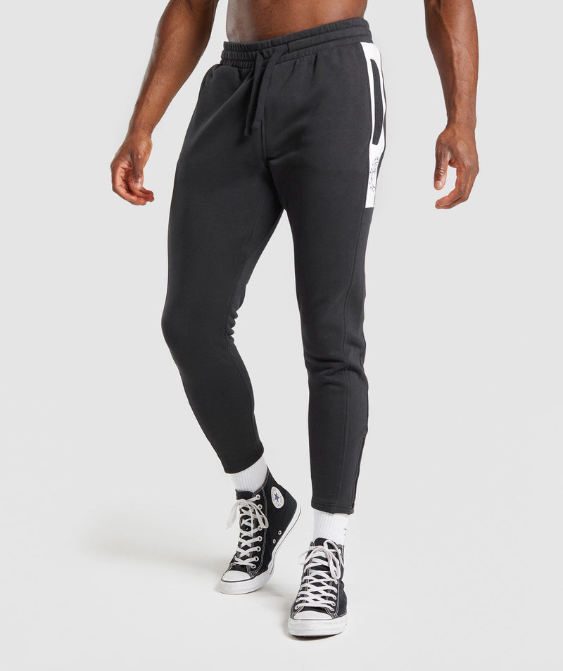 Gymshark Luxe Legacy Joggers - Black